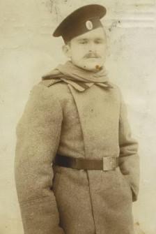 Яков Улицкий во время 1 мировой войны